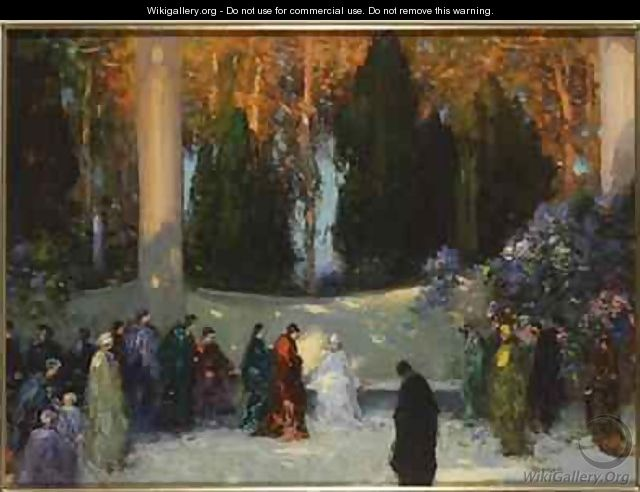 The Audience - Thomas E. Mostyn