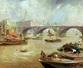 London Bridge from Bankside - David Murray
