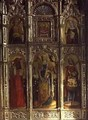St Sabina altarpiece 1443 - Giovanni and Antonio da Murano