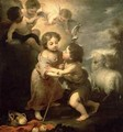 The Infants Christ and John the Baptist - (after) Murillo, Bartolome Esteban