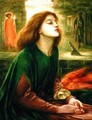 Copy of Beata Beatrix by Dante Gabriel Rossetti 1828-82 1900-10 - J. H. Gibbons