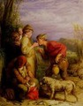 Giving a bite - William Mulready