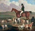 Tom Llewelyn Brewer on his Horse The Doctor 1845 - James Flewitt Mullock
