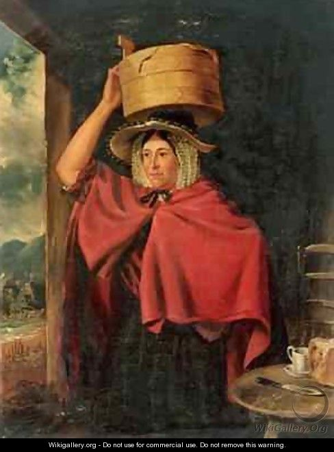 Welsh Cocklewoman 1888 - James Flewitt Mullock