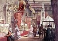 Great Exhibition Medieval Court 1851 - Joseph Nash