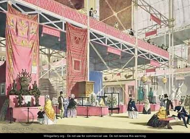 Crystal Palace the Tunis and China Galleries - Joseph Nash