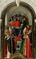 St Mark enthroned with Saints - Giovanni (Giovanni da Udine) Nanni (Nani)