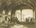 The Hall of Mirrors in the Palace of the Sardar of Yerevan Armenia - Celestin Francois Nanteuil