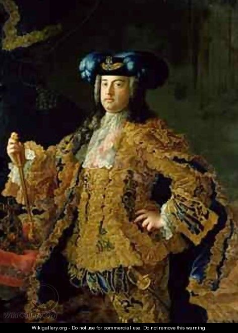 Francis I 1708-65 Holy Roman Emperor and husband of Empress Maria Theresa of Austria 1717-80 - Martin II Mytens or Meytens