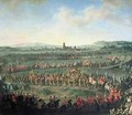 The Entrance of Emperor Francis I 1708-65 into Frankfurt - Martin II Mytens or Meytens