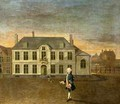 A Young Nobleman Standing before a Mansion - (circle of) Mytens/ Meytens, Martin II