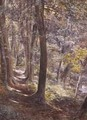 A Woodland Glade 1872 - Paul Jacob Naftel