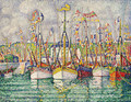 Blessing of the Tuna Fleet at Groix 1923 - Paul Signac