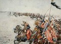 Charge of the Mamelukes at the Battle of Austerlitz 2nd December 1805 - Felicien baron de Myrbach-Rheinfeld