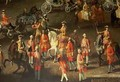 A Cavalcade in the Winter Riding School of the Vienna Hof to celebrate the defeat of the French army at Prague 1743 2 - Martin II Mytens or Meytens