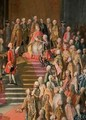 The Investiture of Joseph II 1741-90 Emperor of Germany in Frankfurt Cathedral - Martin II Mytens or Meytens