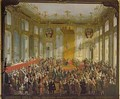 Empress Maria Theresa at the Investiture of the Order of St Stephen 1764 - Martin II Mytens or Meytens
