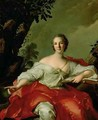 Portrait of Madame Geoffrin 1699-1777 1738 - Jean-Marc Nattier