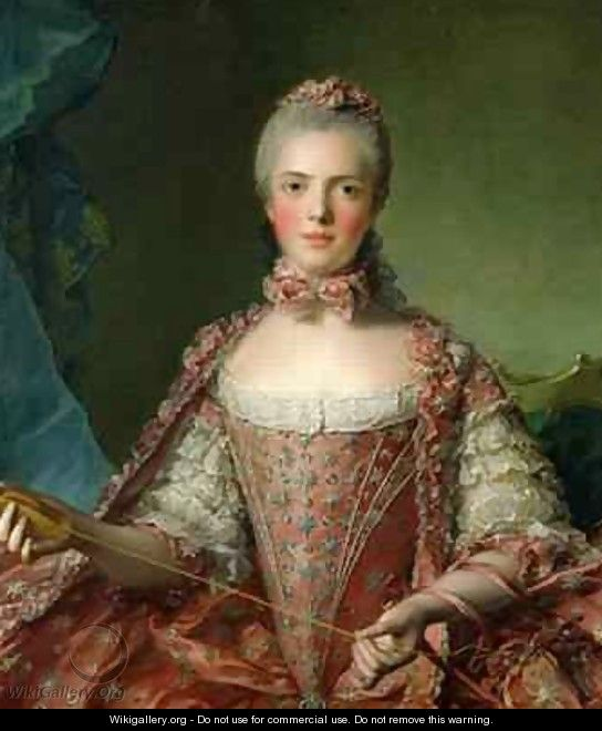 Portrait of Marie Adelaide 1759-1802 1756 - Jean-Marc Nattier