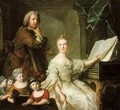 The Artist and his Family 1730-62 - Jean-Marc Nattier