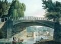 The Bridges over the Canal in Sidney Gardens - John Claude Nattes