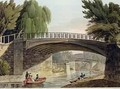 The Bridges over the Canal in Sydney Gardens from Bath Illustrated by a Series of Views - John Claude Nattes