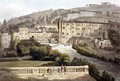 Pulteney Bridge from Bath Illustrated by a Series of Views - John Claude Nattes