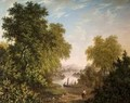 Lake Scene with Boats and Figures 1800-31 - Patrick Nasmyth