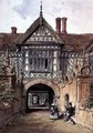 Speke Hall Lancs - Joseph Nash