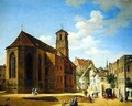 The Church Square in Wasserburg am Inn 1838 - Michael Neher