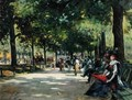 Elegant Figures Rotten Row Hyde Park London - Count Girolamo Pieri Nerli