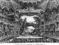 Second view of the Theatre de la Republique plate 83 from volume IV of Voyage de France - Francois Denis Nee
