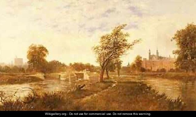 Eton from the Thames - Edward H. Niemann