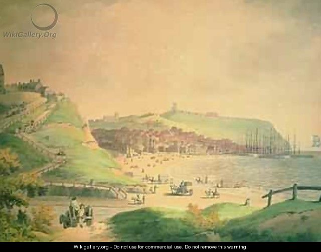 The South Bay Scarborough 1790 - Francis Nicholson