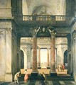 Hall of a Palace - Isaak Nickelen