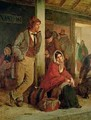 Irish Emigrants Waiting for a Train 1864 - Erskine Nicol