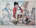 John Bull in Paris between a Shower and a Stink 1796 - Richard Newton