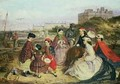 A Victorian Family at the Seaside - Charles Wynee Nicholls
