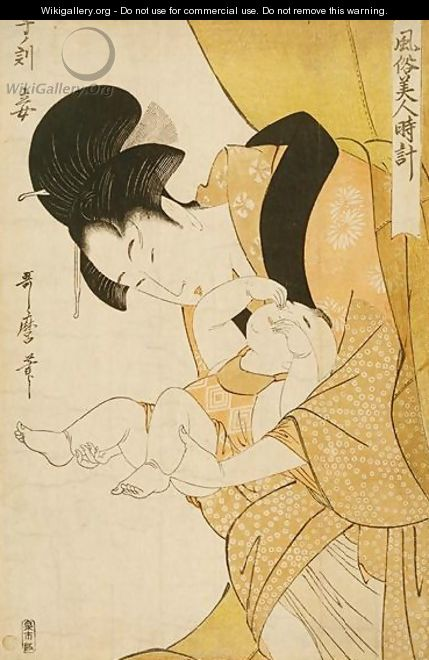 The Hour of the Rat - Kitagawa Utamaro