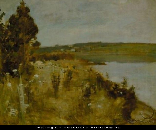 The River - John Henry Twachtman