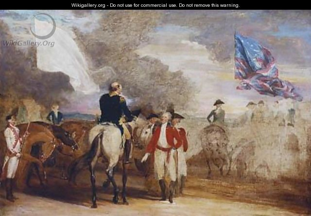 Surrender of Cornwallis at Yorktown - John Trumbull