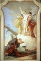 The Three Angels Appearing to Abraham - Giovanni Battista Tiepolo