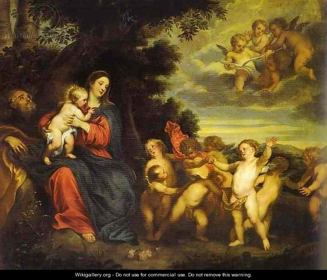 The Rest on the Flight to Egypt - Sir Anthony Van Dyck