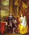 Charles I and Queen Henrietta Maria - Sir Anthony Van Dyck