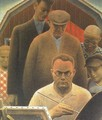 Return from Bohemia - Grant Wood