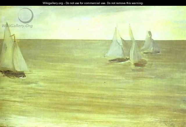 Trouville - James Abbott McNeill Whistler
