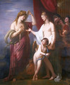 Juno Receiving the Cestus from Venus - Benjamin West