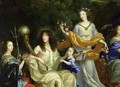 The Family of Louis XIV 1638-1715 1670 2 - Jean Nocret I