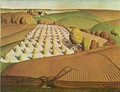 Fall Plowing - Grant Wood