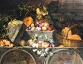 Still Life of fruit - Jean-Baptiste Oudry